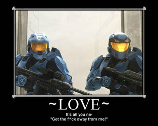 RvB: All you need is love by zombieinfect10
