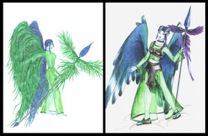 Quetzal lady by rahah