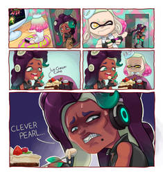 Clever Pearl (Life of Ry redraw Contest) by Carrot-Ache