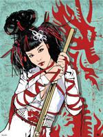 Ninja Warrior by Grimgraphix