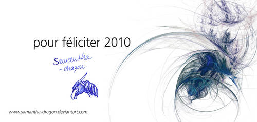 Pour Feliciter 2010 by Samantha-dragon