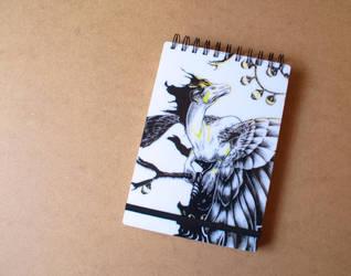 Commission: Sketchbook for Kayrea by Samantha-dragon