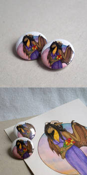 Commission: Buttons of Evening Nava by Samantha-dragon