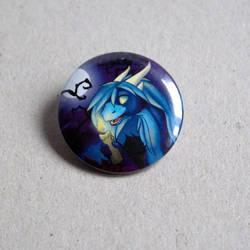 Gift: Button of halloween Samantha by Samantha-dragon