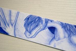 Pen challenge: Dreit - detail by Samantha-dragon