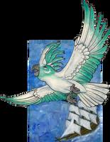 ACEO/ATC: Freedom by Samantha-dragon