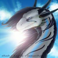 Collab: Summer Rasha by Samantha-dragon