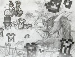 Gift: Llama Whirlpool by Samantha-dragon