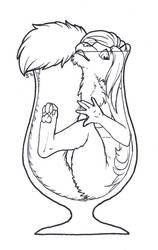 InkTober - No. 10: Stuck by Samantha-dragon