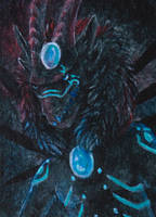 ACEO/ATC: Dark by Samantha-dragon