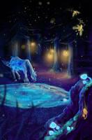 ArtBid: Magical Forest by Samantha-dragon