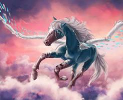 ArtBid: Cantar as Cloudwalker by Samantha-dragon