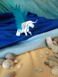 Contest/event: Beach (origami) by Samantha-dragon