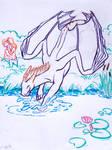 Orion swimming mini-story I. by Samantha-dragon