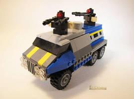 LEGO PlanetSide 2 Sunderer by Bricknave