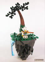 LEGO Legends of Chima Floating Rock by Bricknave