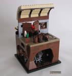 Captain Claw's Explosive Getaway by Bricknave