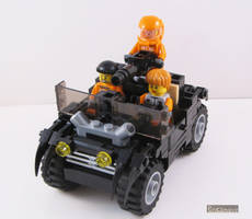 Panther Attack Jeep by Bricknave
