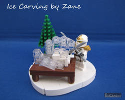 Ice Carving by Zane by Bricknave