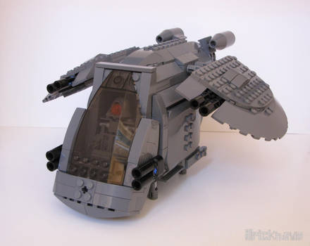 GRY-1's Gunship by Bricknave