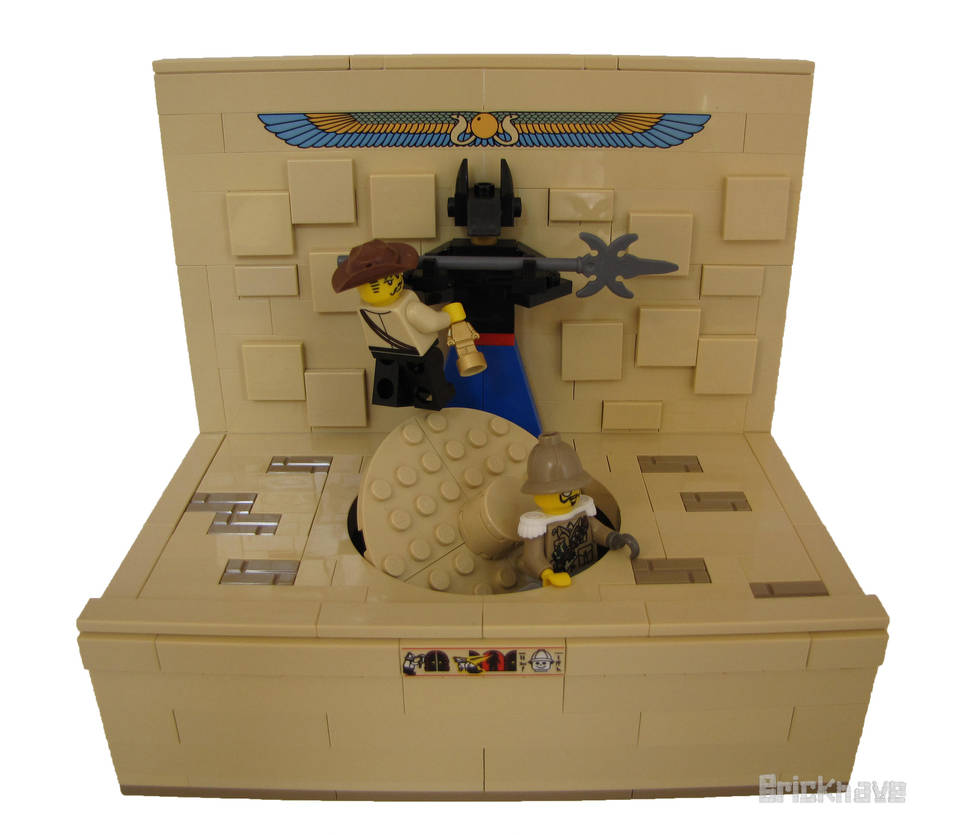 Johnny Thunder Outwits His Adversary by Bricknave
