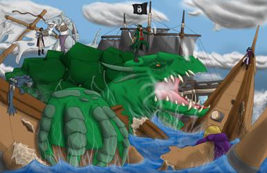 Pirates of the south sea's Lock Keys by BigBadShadowMan