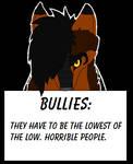 DemoniaTheGuardian On Bullies by Silver-TailedHawk