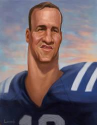 Peyton Manning by infernovball