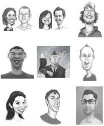 Facebook Fan Drawings 01 by infernovball