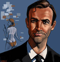 Sean Connery 007 by infernovball