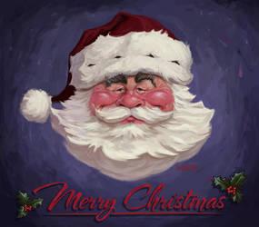 Santa by infernovball