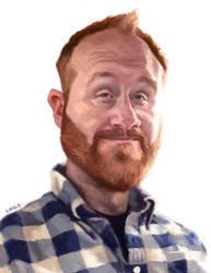 Self Portrait 2014 by infernovball