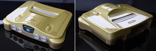 Custom Zelda ocarina of time Nintendo 64 N64 by Zoki64