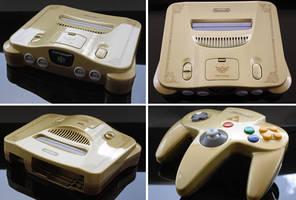 Custom Ocarina of Time themed Nintendo 64 by Zoki64