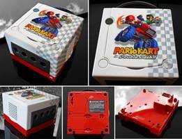 custom Mario Kart double dash gamecube by Zoki64
