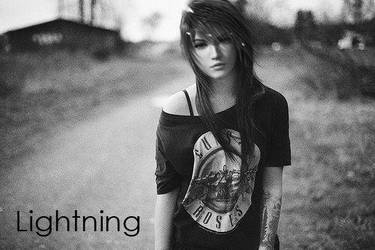 Lightning by TifaLockhart01