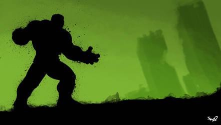Hulk Smash by Sno2