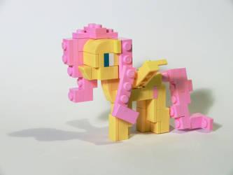 LEGO Fluttershy by Oilyvalves