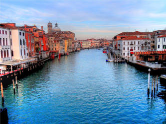 Grand canal , Venice by edwarddd89