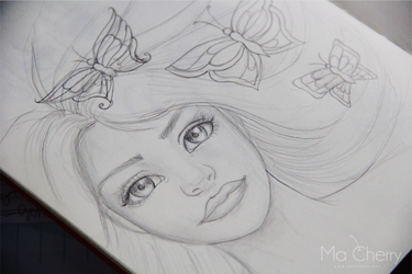 Sketch by llenalove