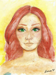 Watercolor practices by llenalove