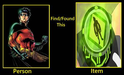 What if Tim Drake find Omnitrix by KeybladeMagicDan