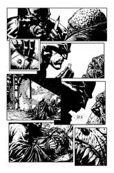 Finch Batman Sequential - sample inks by JeffGraham-Art