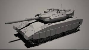 Merkava 3 MK III Tank by MMitov