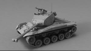 M41 Walker Bulldog by MMitov