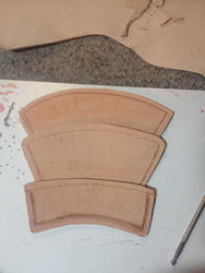 Altair Ibn-La'Ahad Right-Hand Bracer WIP by Chajiko