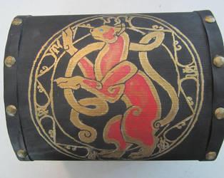 Celtic Cat Box by AnyBraginski