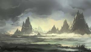 Mountains by EinarNordstrom