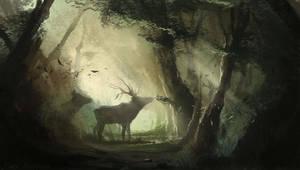 Deers by EinarNordstrom