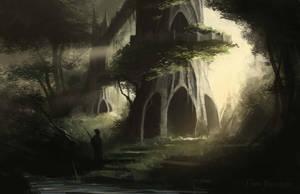 Forest Temple by EinarNordstrom
